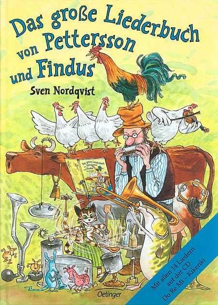 Das Grosse Liederbuch Von Pettersson Und Findus Pettersson Und